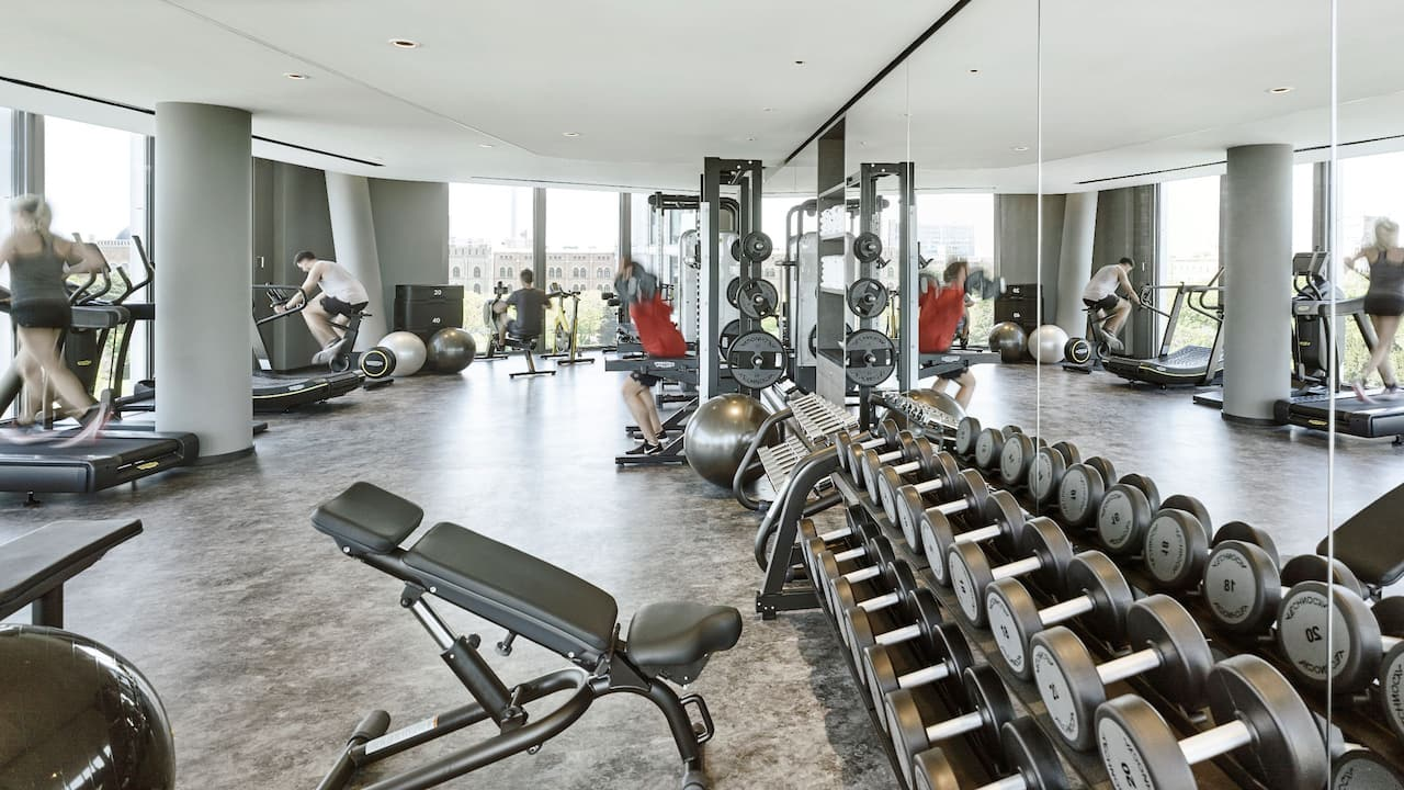 Andaz Vienna Am Belvedere Gym