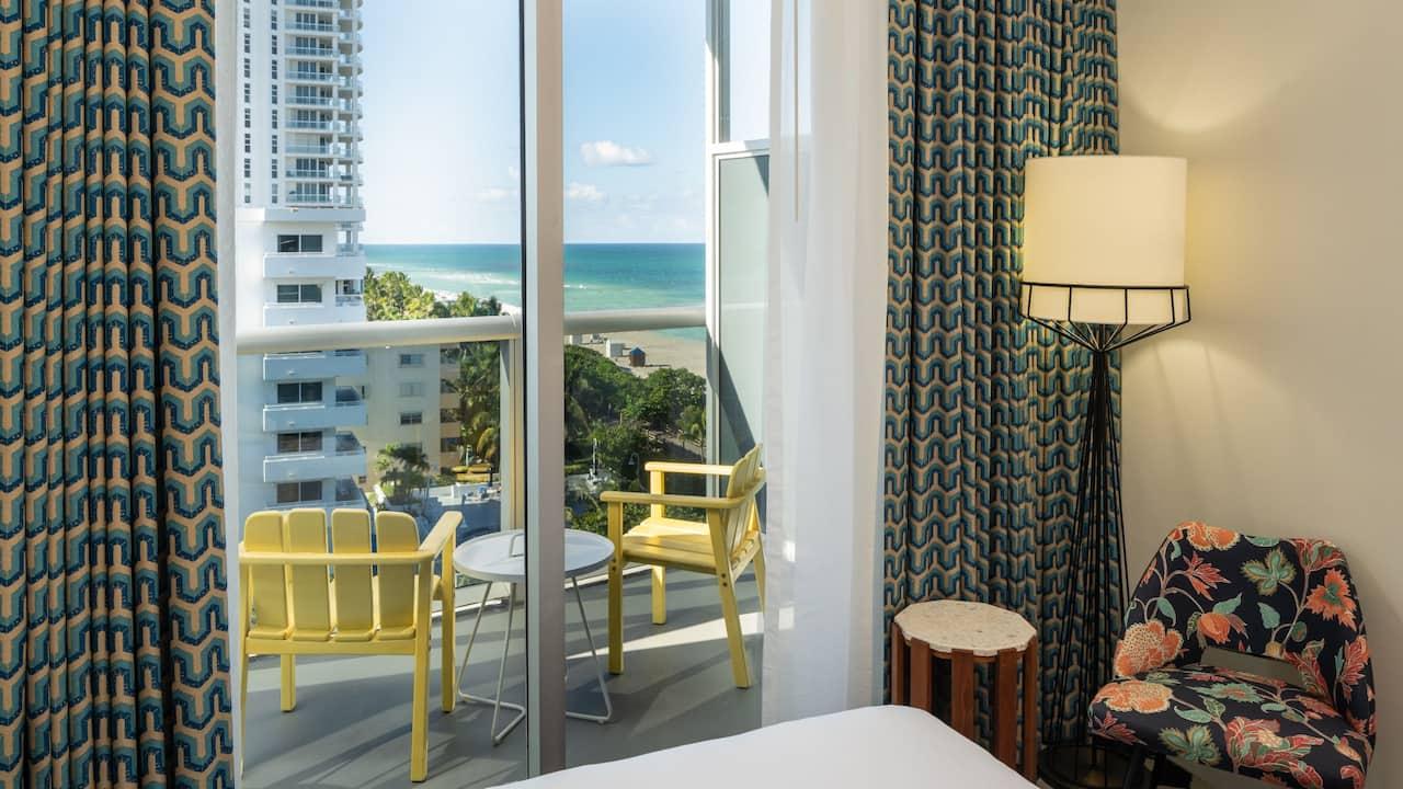 Ocean View Balcony Double Queen