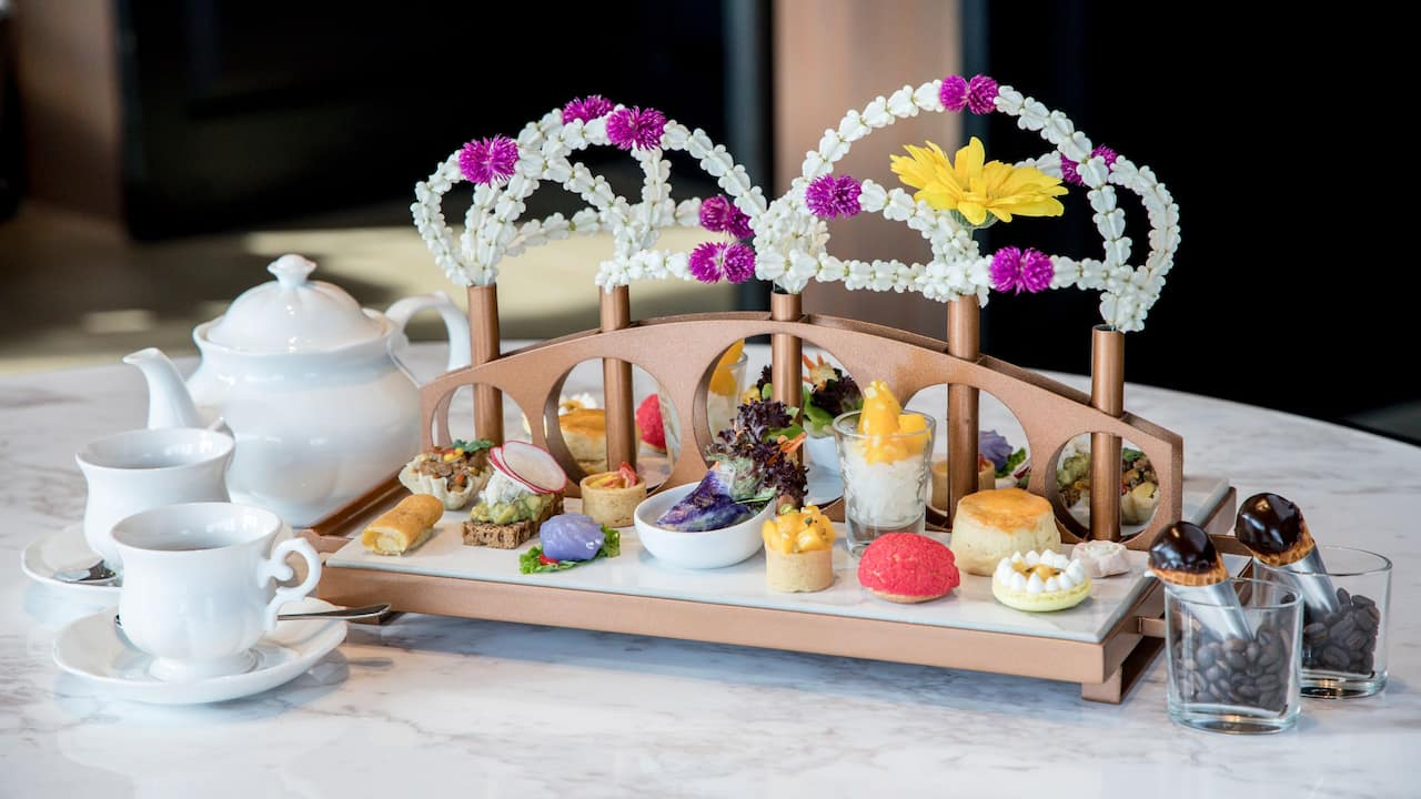Explore the legacy of Sukhumvit with our Sukhumvit Gallery Afternoon Tea