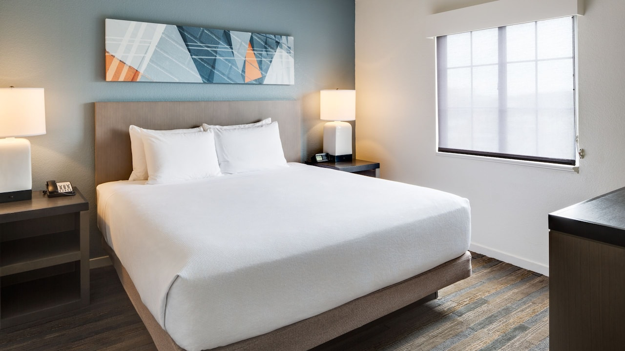 HYATT HOUSE BOSTON/WALTHAM | Living Room & Bedroom