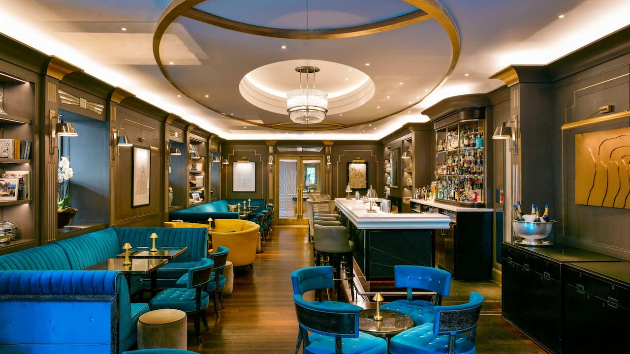 Award-winning bar with winter terrace in Marylebone | Hyatt Regency London - The Churchill