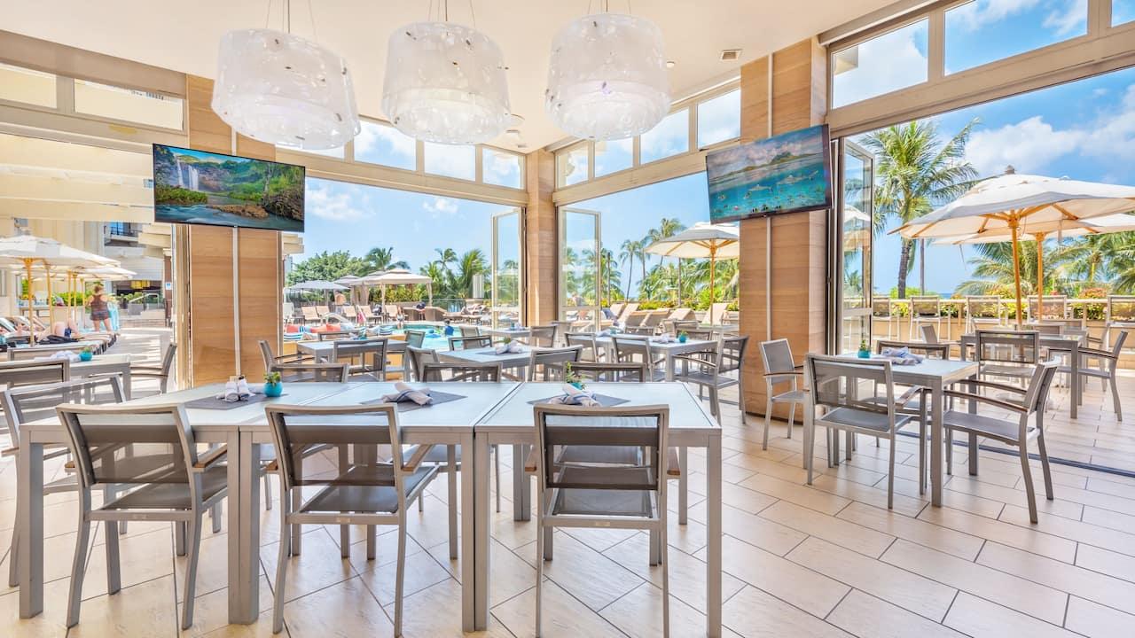 Swim restaurant
