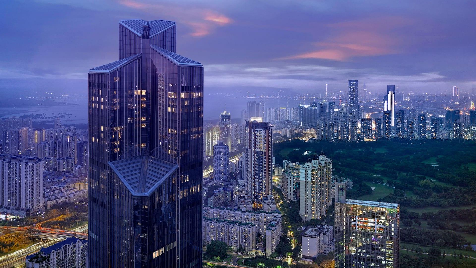 Park Hyatt Shenzhen hotel exterior
