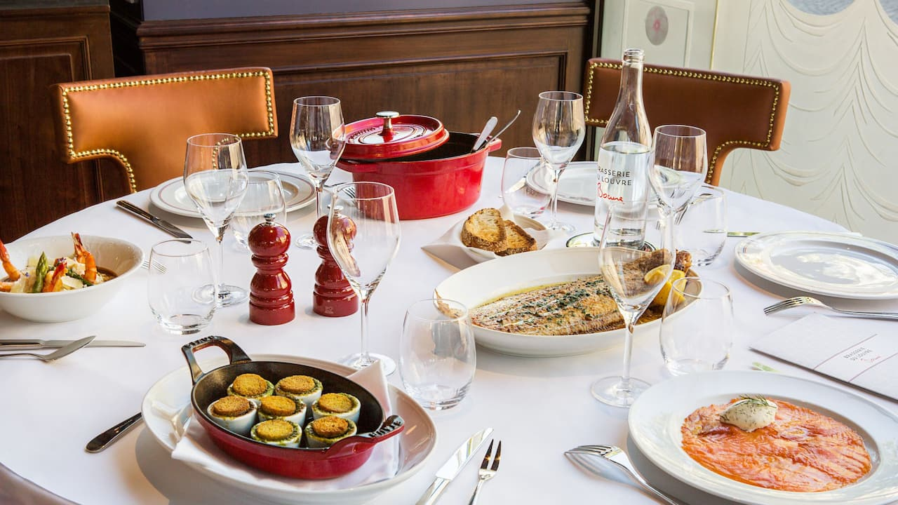 Brasserie du Louvre - Hotel du Louvre - Table Bocuse