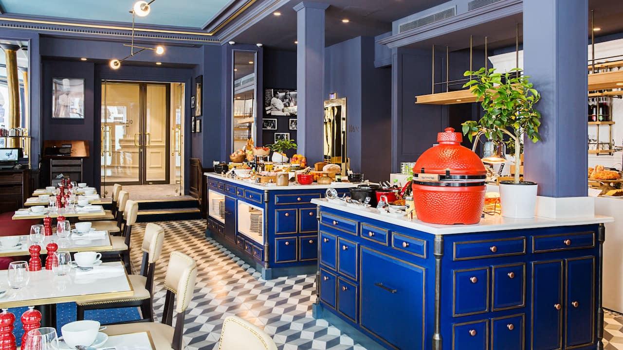 Brasserie du Louvre - Hotel du Louvre - Petit Dejeuner