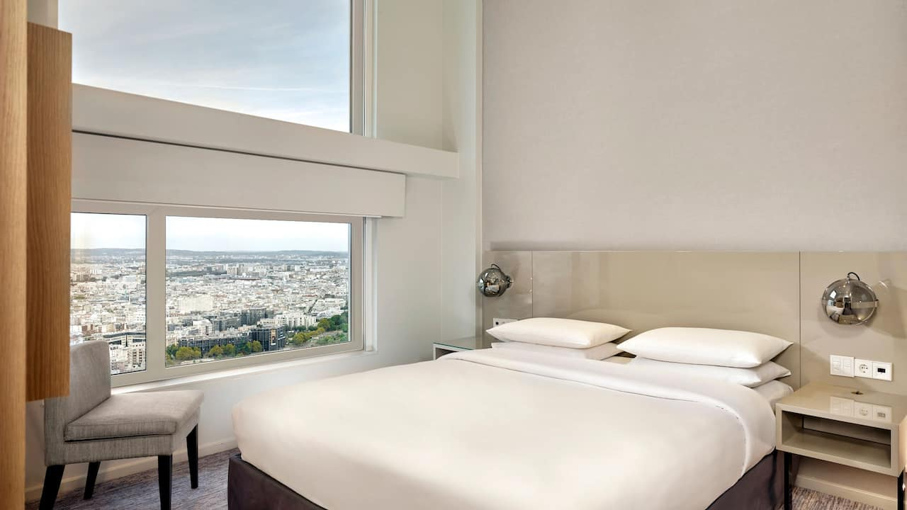 Hyatt Regency Paris Etoile Loft Bedroom 40sqm