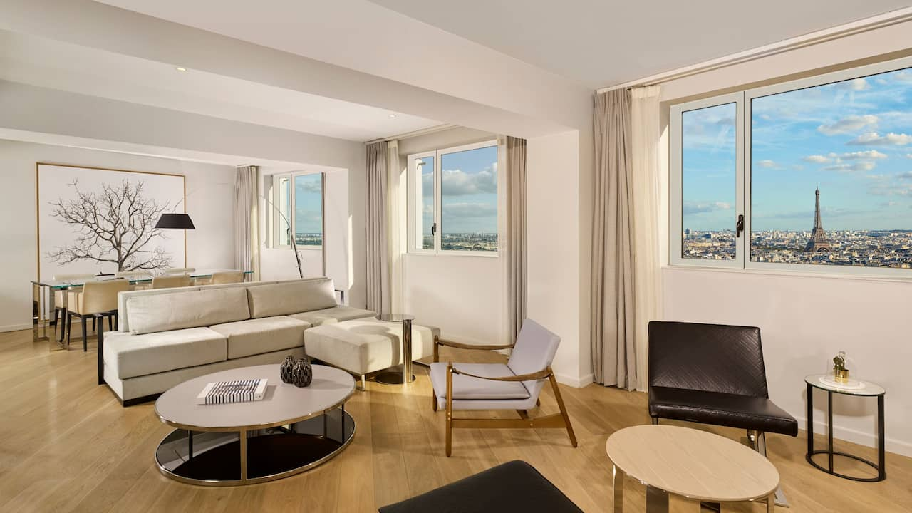 Hyatt Regency Paris Etoile Suite Presidential