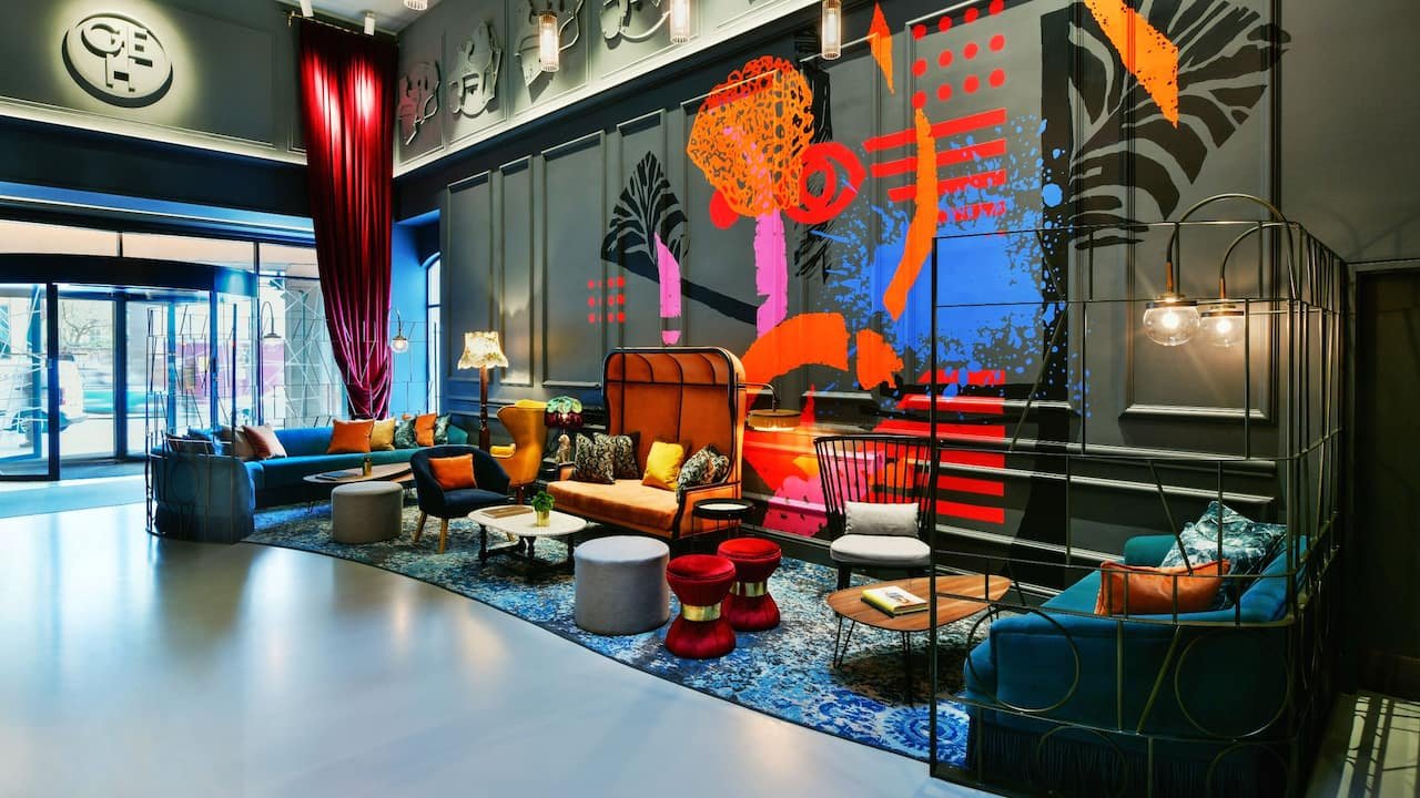 Lobby lounge at Andaz London Liverpool Street