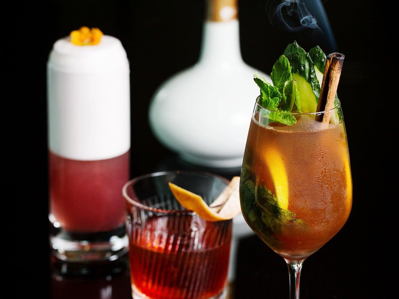 Busan Hotel Bar Cocktails