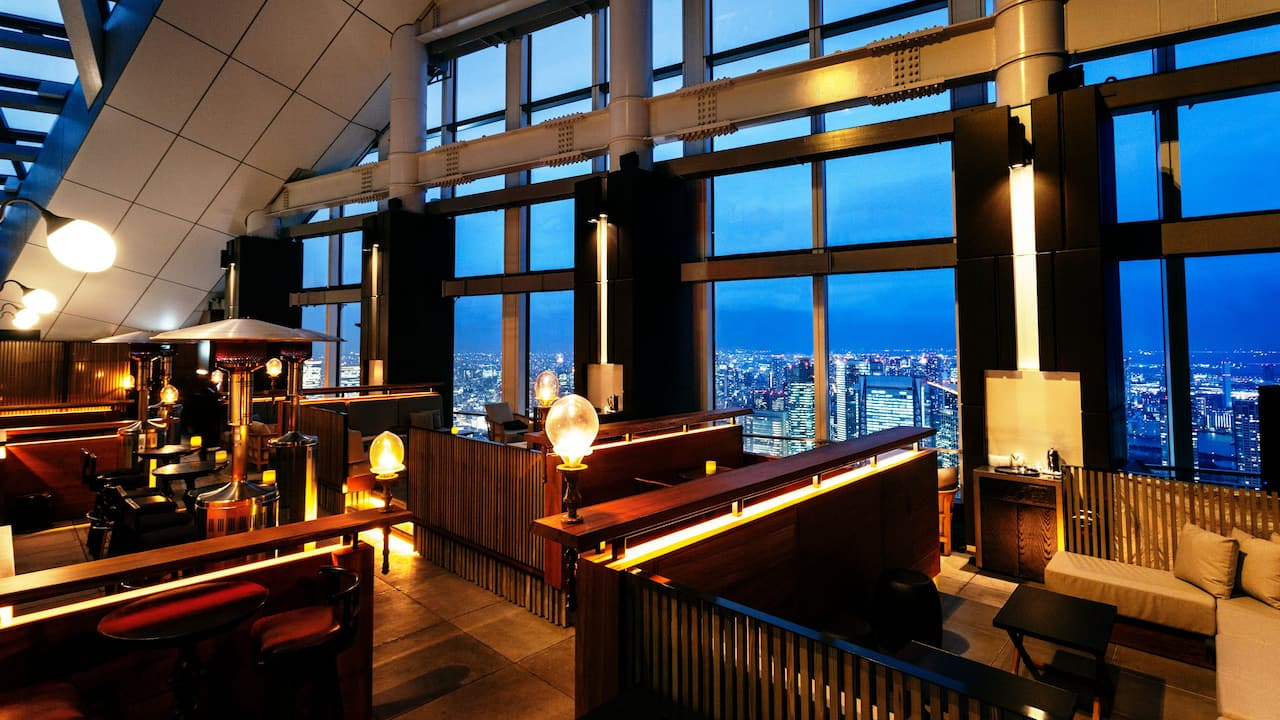 Rooftop Bar Interior