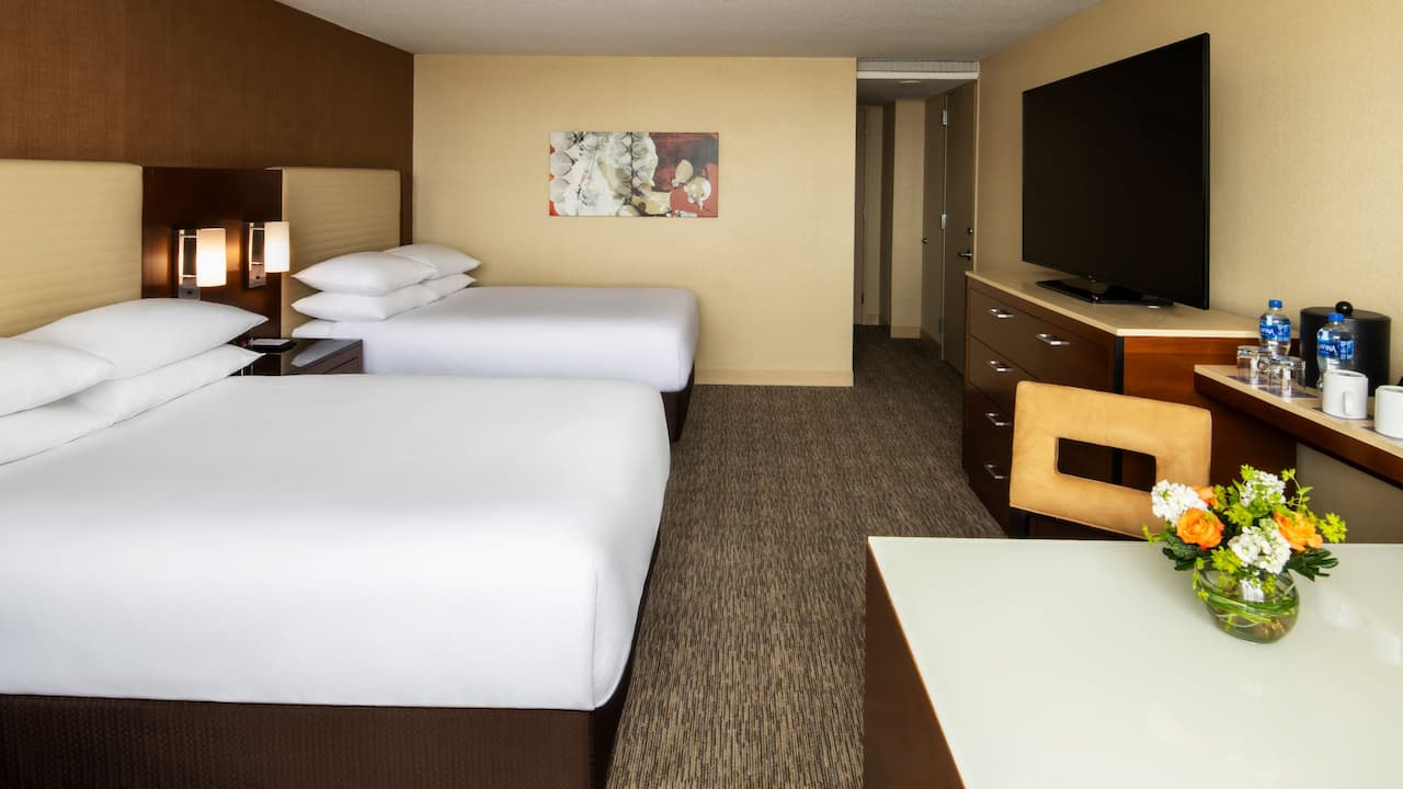 Two Double Bed Hyatt Regency Ohare