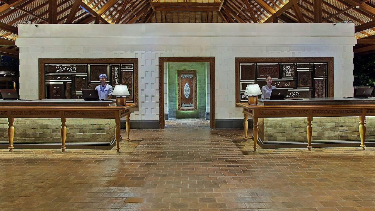 Hyatt Regency Bali Hotel Lobby