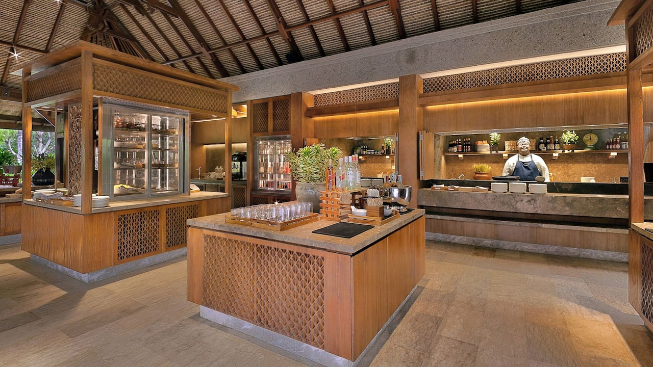 The Regency Club Lounge at Hyatt Regency Bali