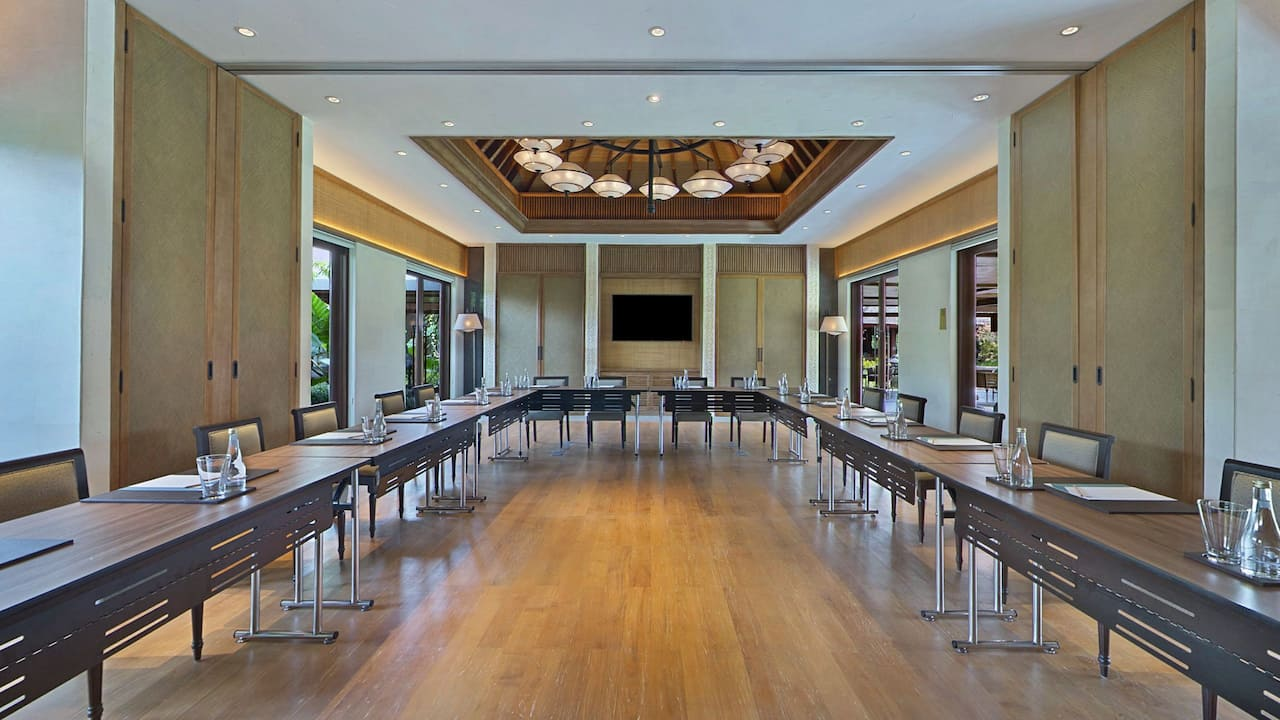 The Wantilan Meeting Rooms at Hyatt Regency Bali