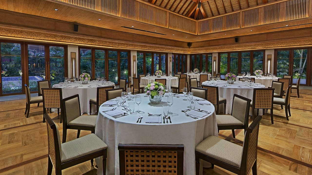 Event and Meeting Space at Wantilan Ballroom, Hyatt Regency Bali