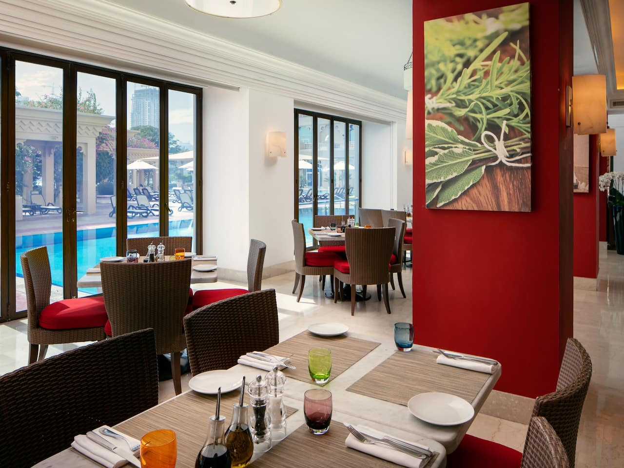 Italian Restaurant in 5 Star Hotel | Grand Hyatt Doha Hotel & Villas