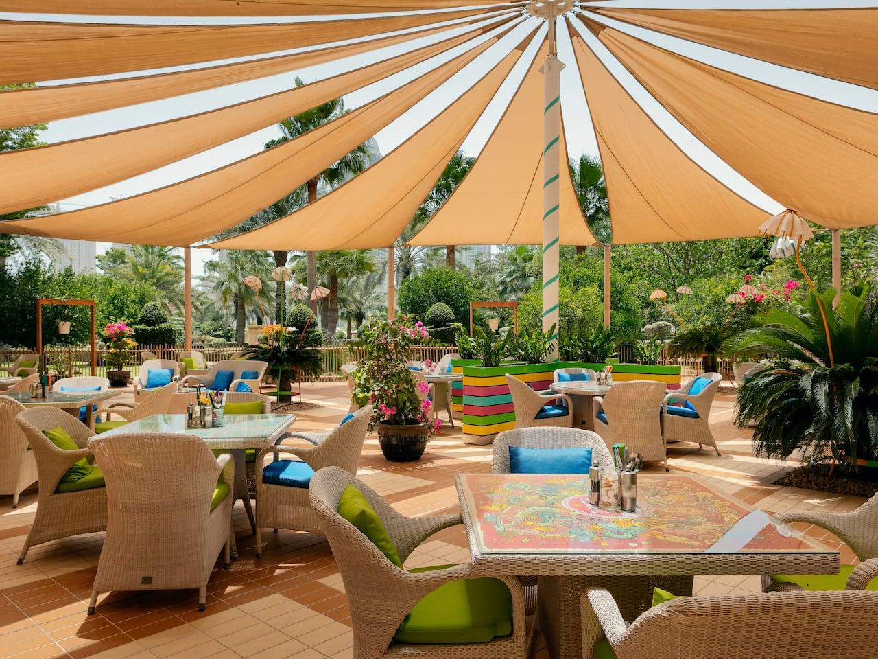 American Restaurant in 5 Star Hotel | Grand Hyatt Doha Hotel & Villas