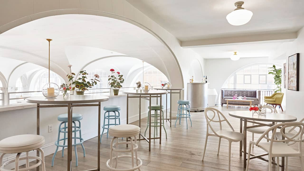 Mezzanine Cocktail Set Up