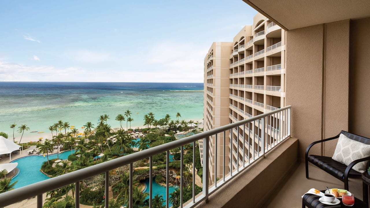 Hyatt Regency Guam Balcony View