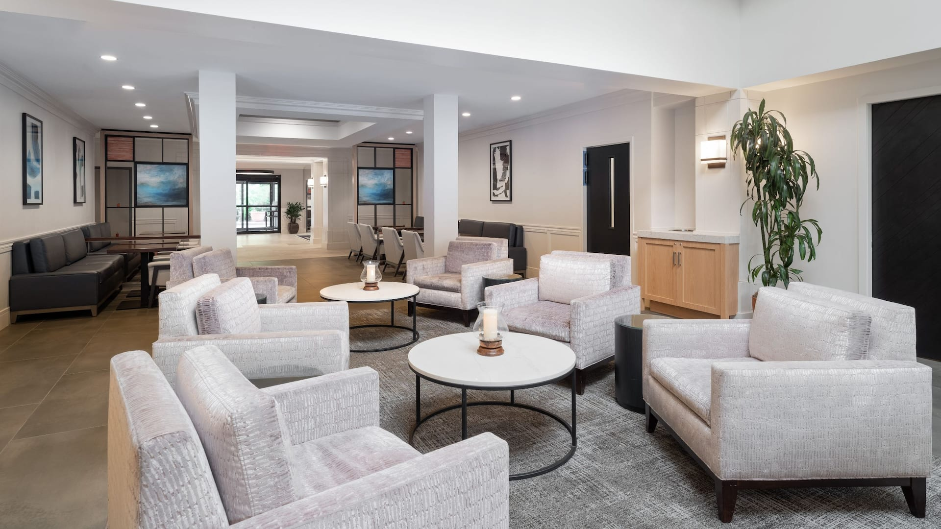 Hyatt House White Plains Common Area Seating