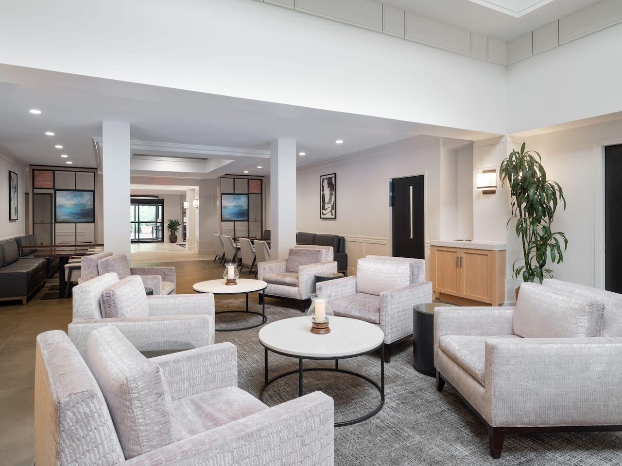 Hyatt House Lobby Seating