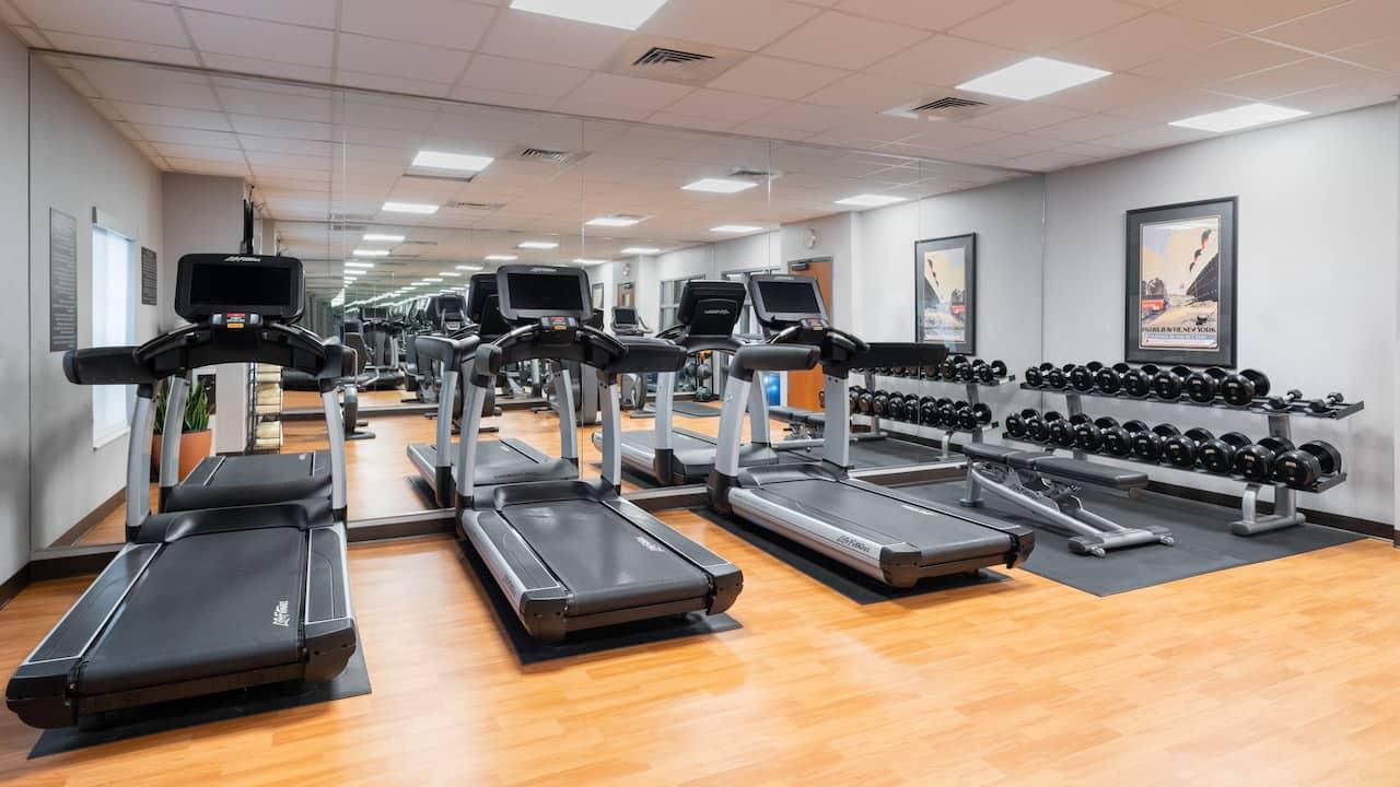 Hyatt House White Plains Fitness Center