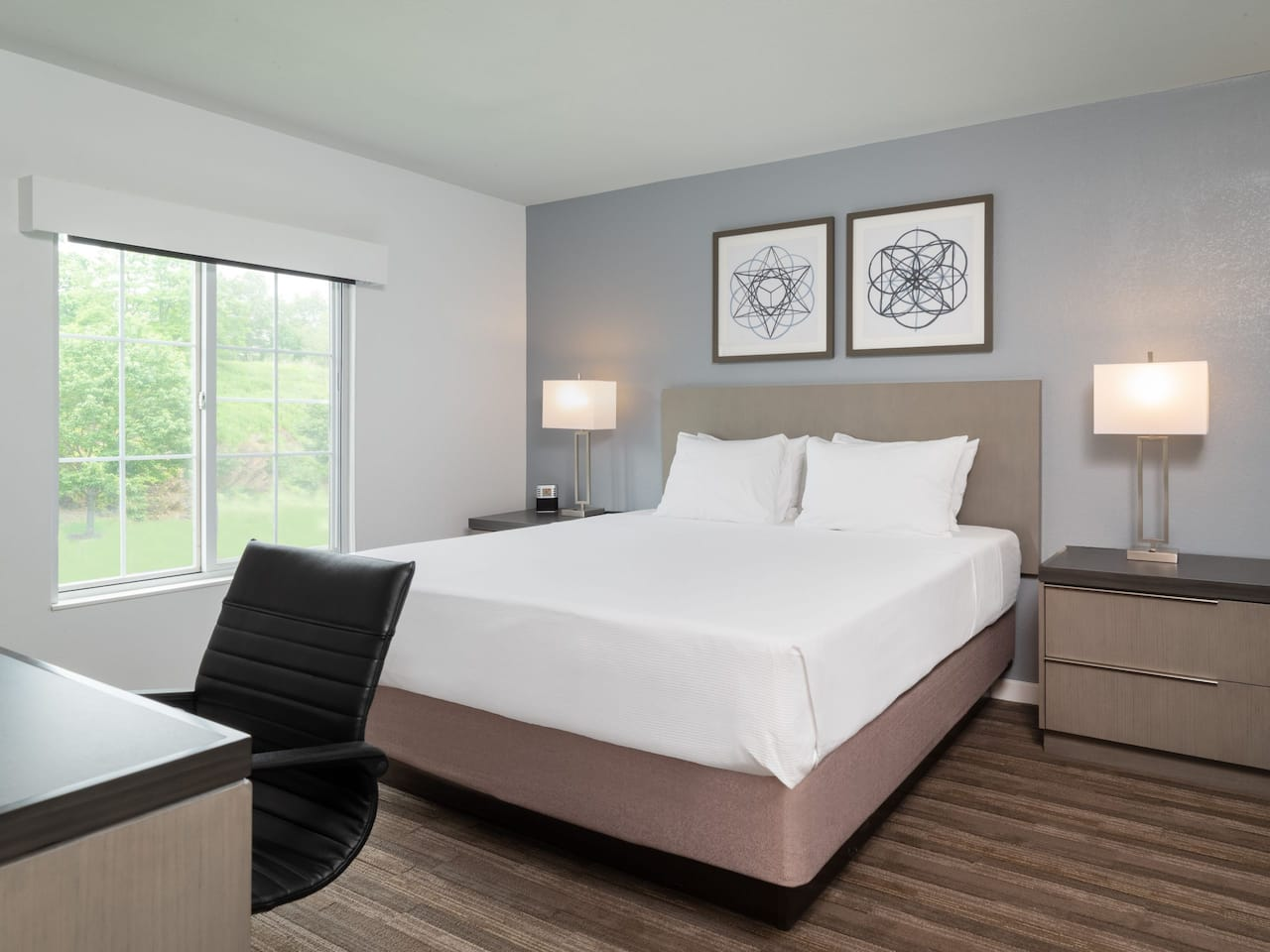 Accessible 1 queen bed hyatt house plains