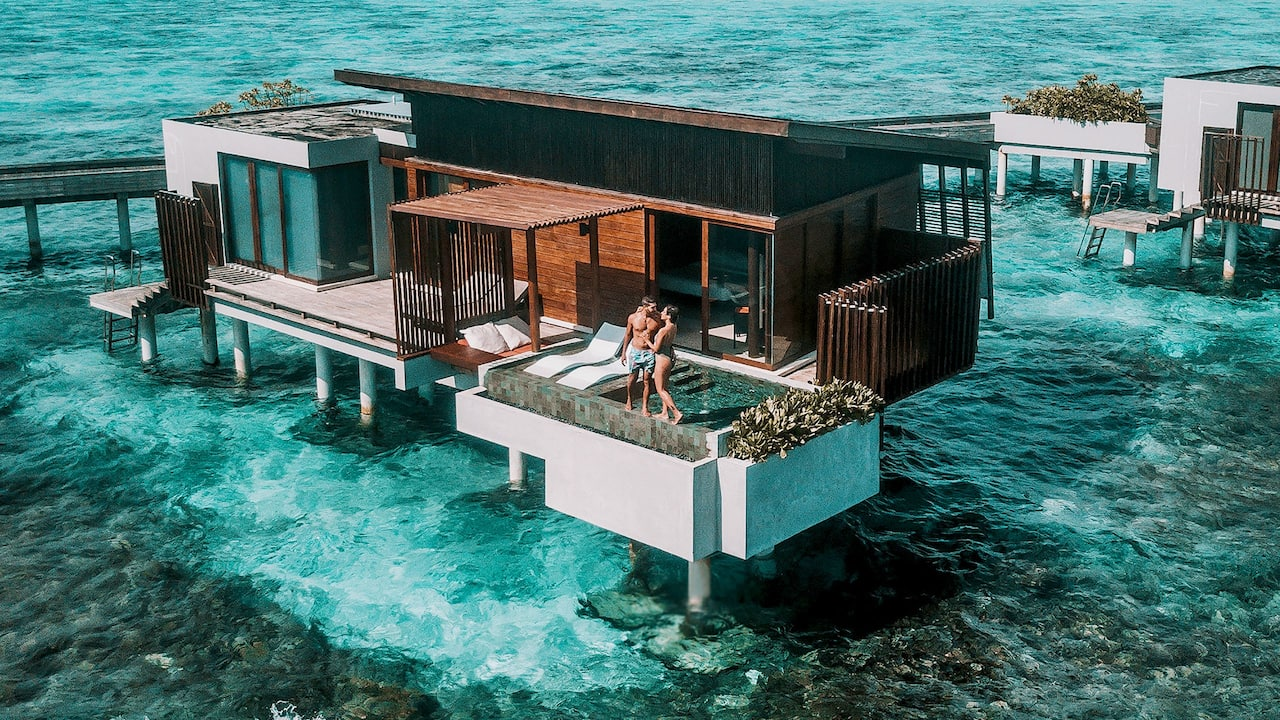 Things to do in Maldives water villa