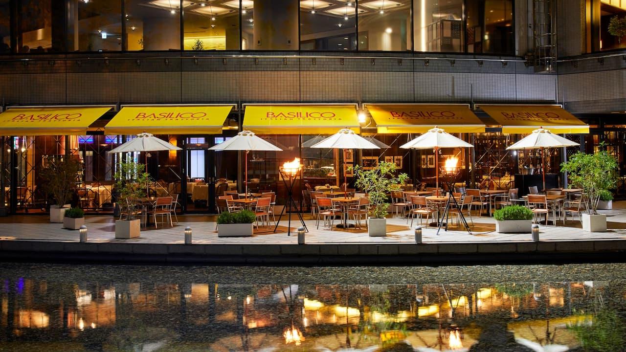 Italian Trattoria Basilico Terrace - Hyatt Regency Osaka