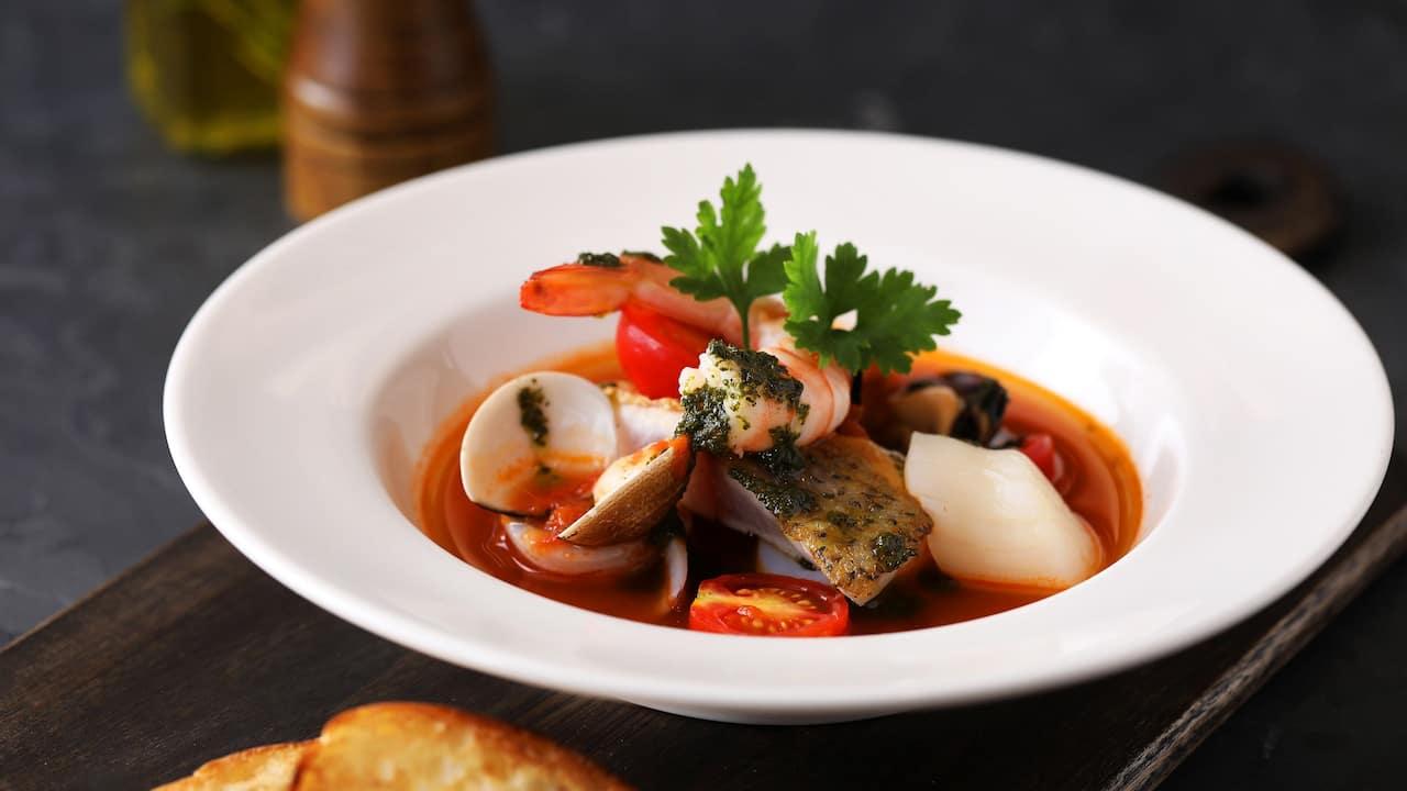 Ziga Zaga Tuscan Seafood Stew