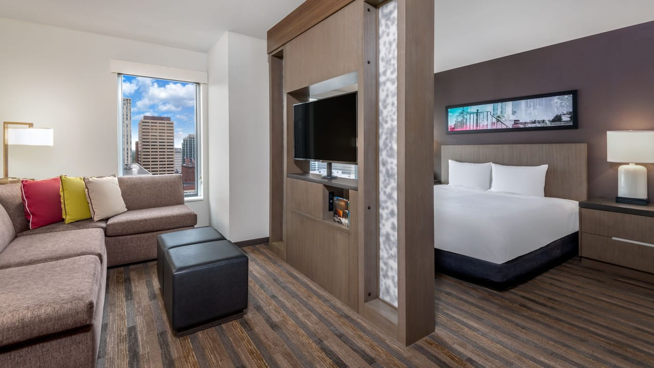 King Studio Suite Hyatt House Denver / Downtown