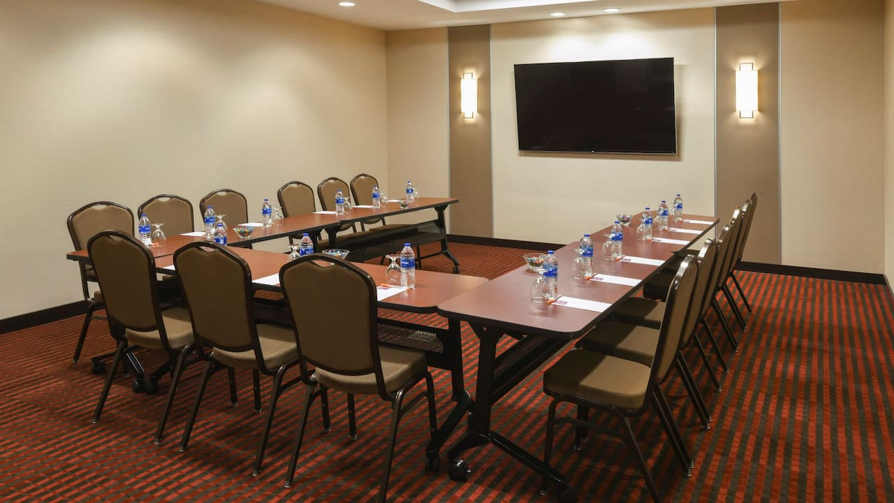 Meeting Room U Shape Setup Hyatt House Denver / Downtown