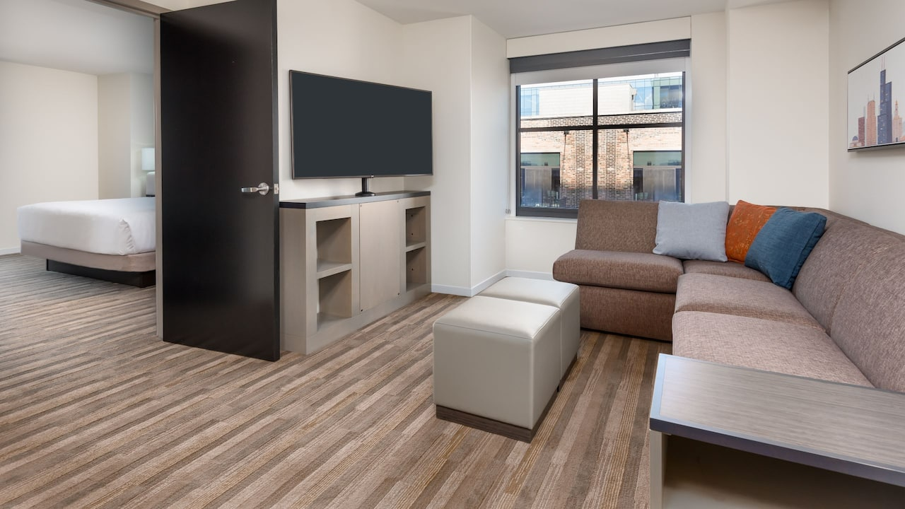 One Bedroom Suite Living Area