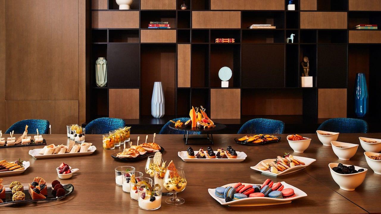 Aphrodite Lounge Buffet at Grand Hyatt Athens