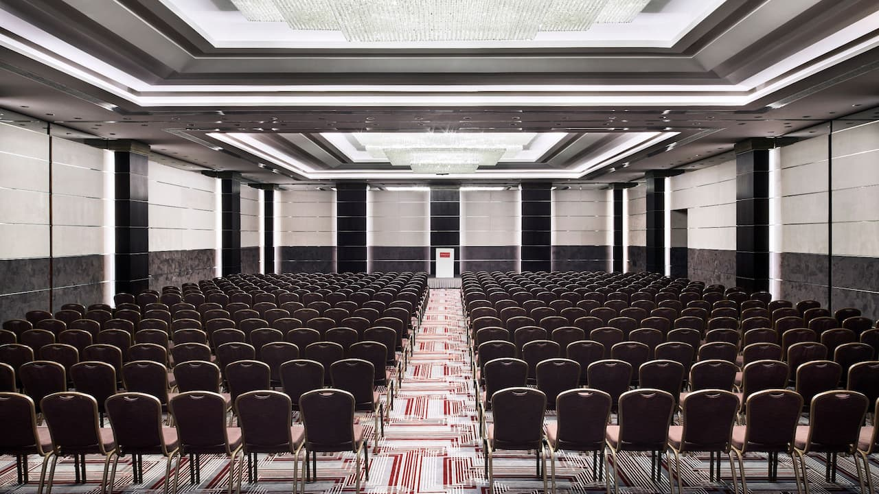 Conference Set Up Meeting Room at Grand Hyatt Athens