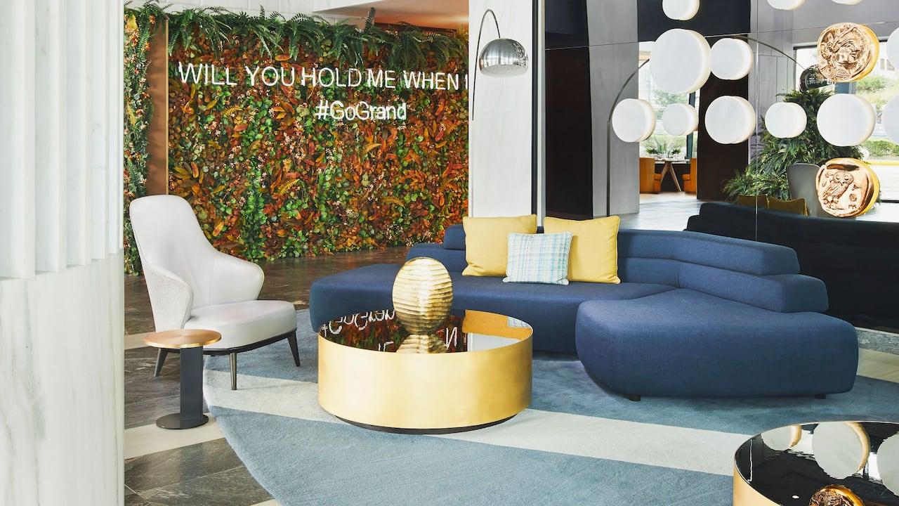 Lobby Area at Grand Hyatt Athens