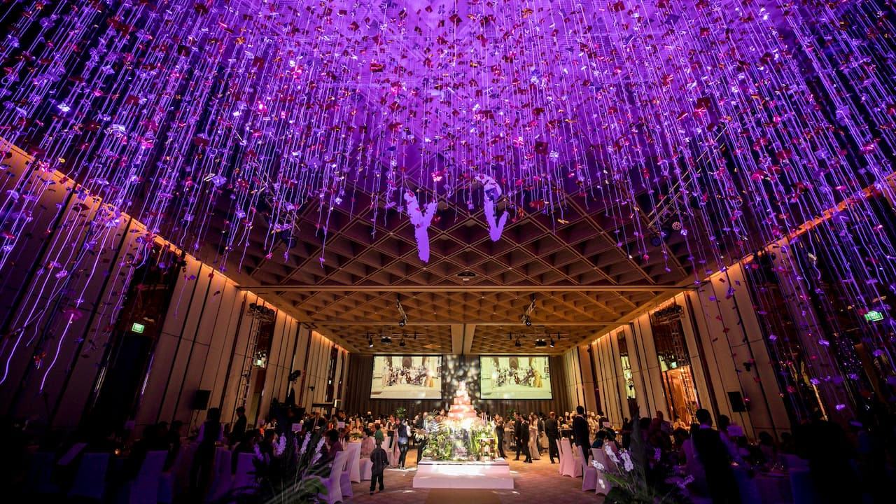 Wedding Venue with Ballroom in Bangkok at Hyatt Regency Bangkok Sukhumvit