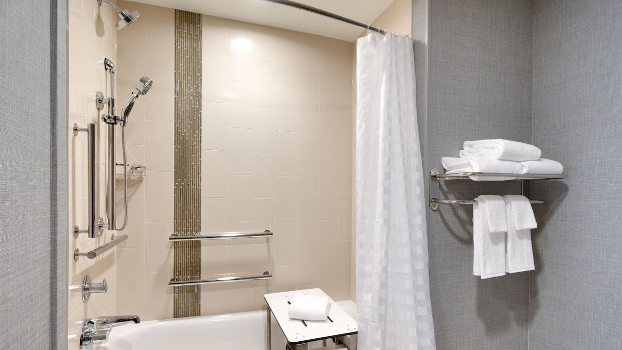 Accessible Bathroom with Bathtub