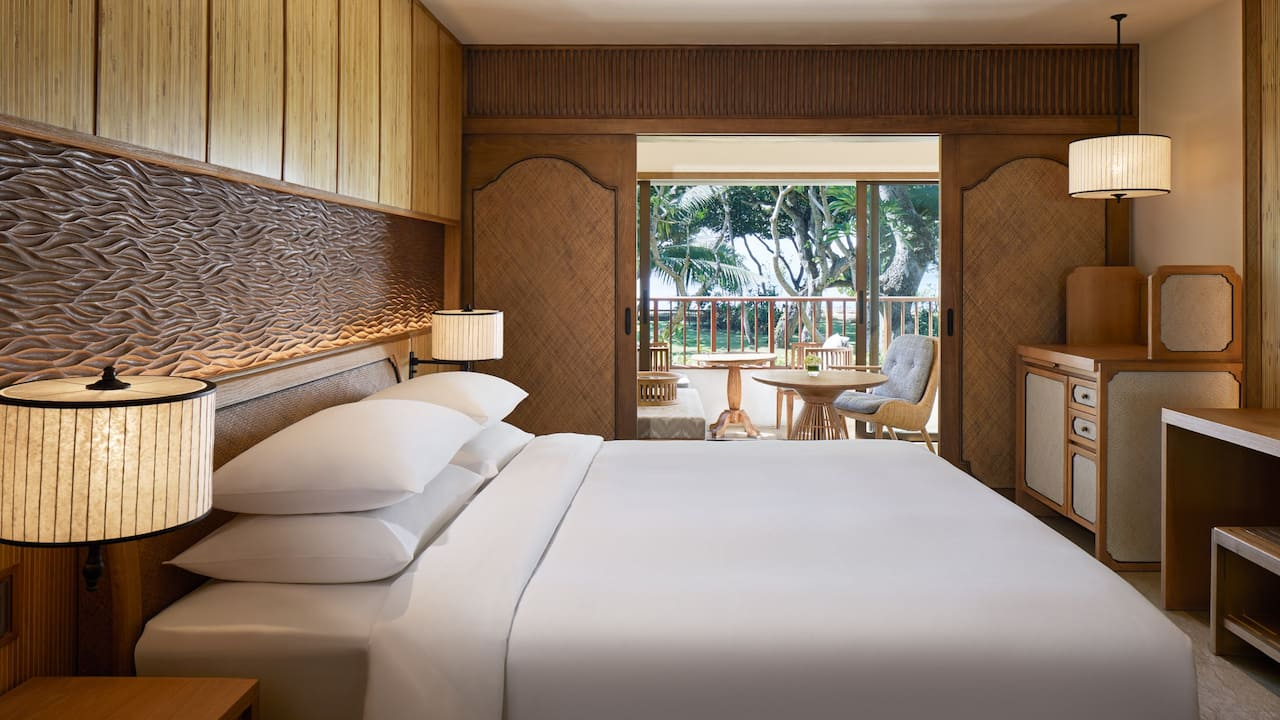 1 King Bed Deluxe Room Hyatt Regency Bali