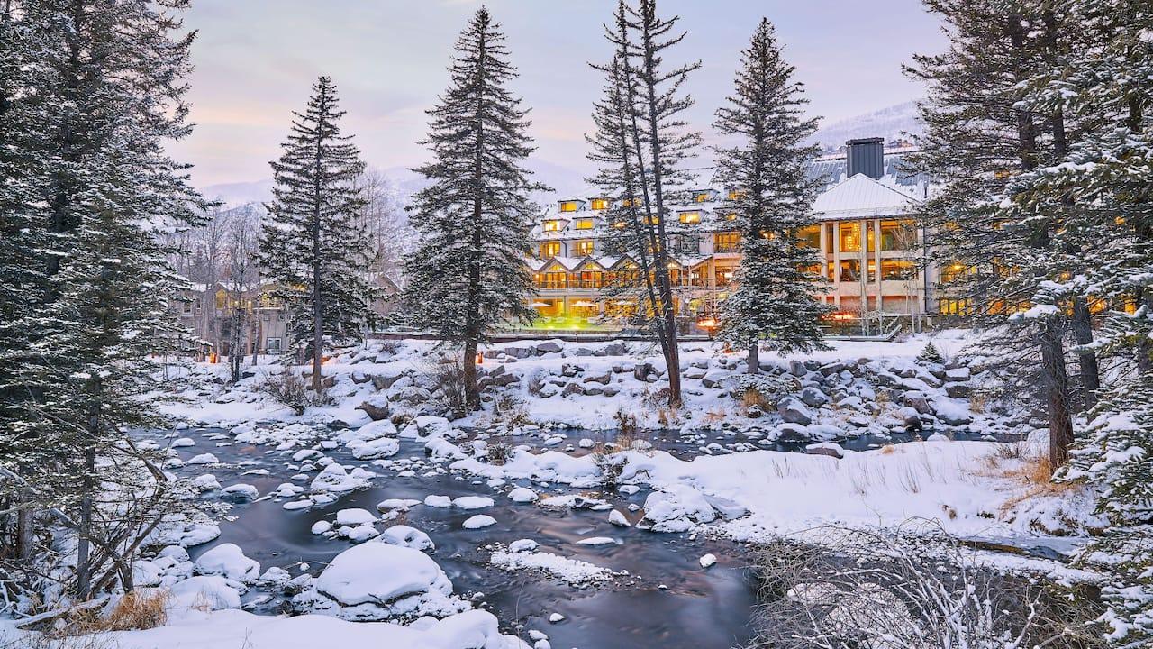 hotel along gore creek