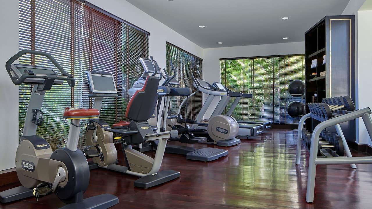 Luxury 5-star Hotel Fitness Center