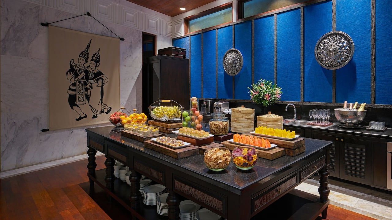 Luxury 5-star Hotel in Siem Reap Open kitchen