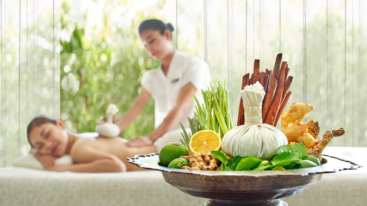Luxury 5-star hotel in Siem Reap Compress Massage