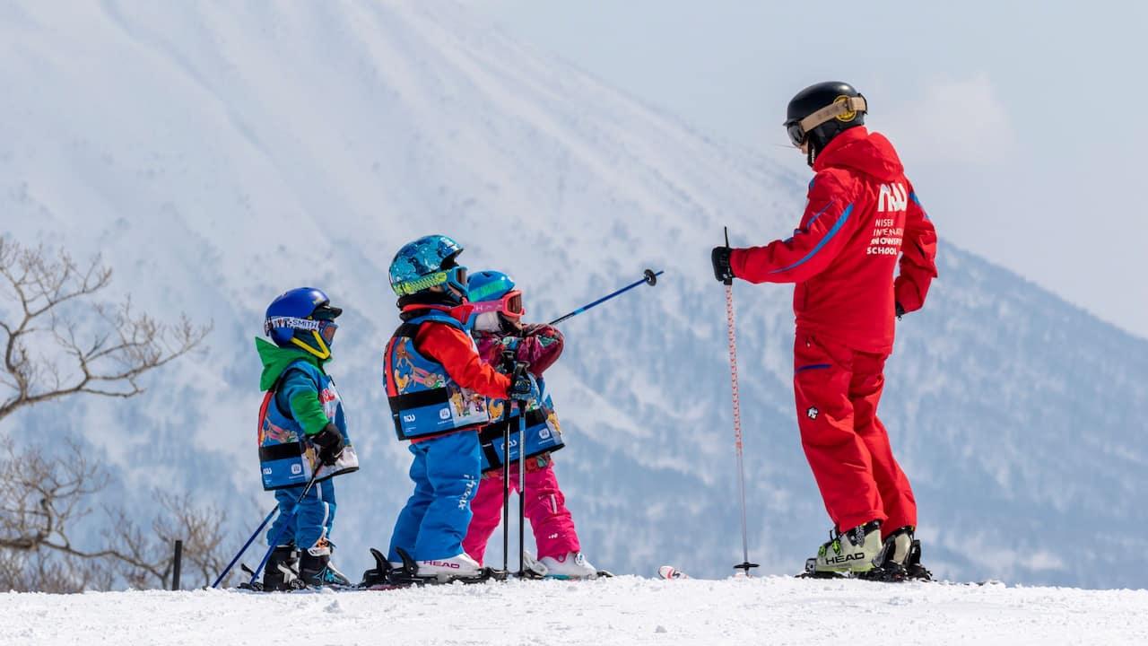 Park Hyatt Niseko Hanazono Kids Ski Lesson