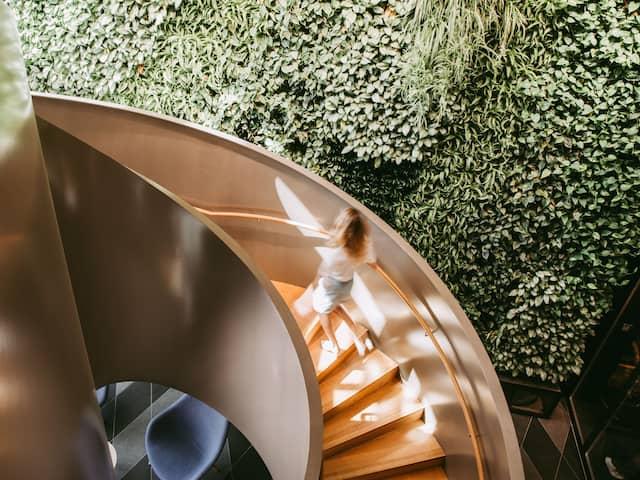 Andaz Munich Schwabinger tor staircase