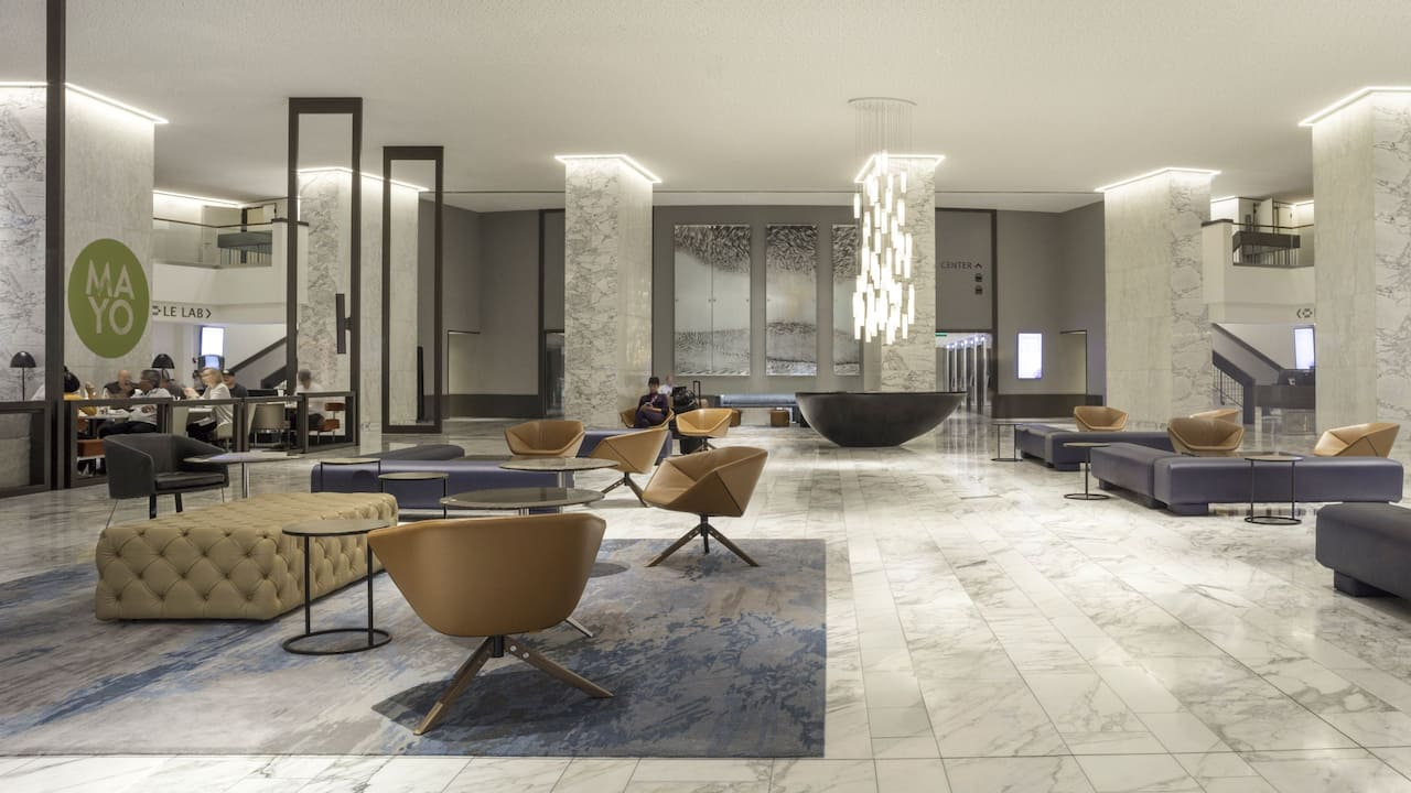 Lobby - Hotel - Hyatt Regency Paris Etoile