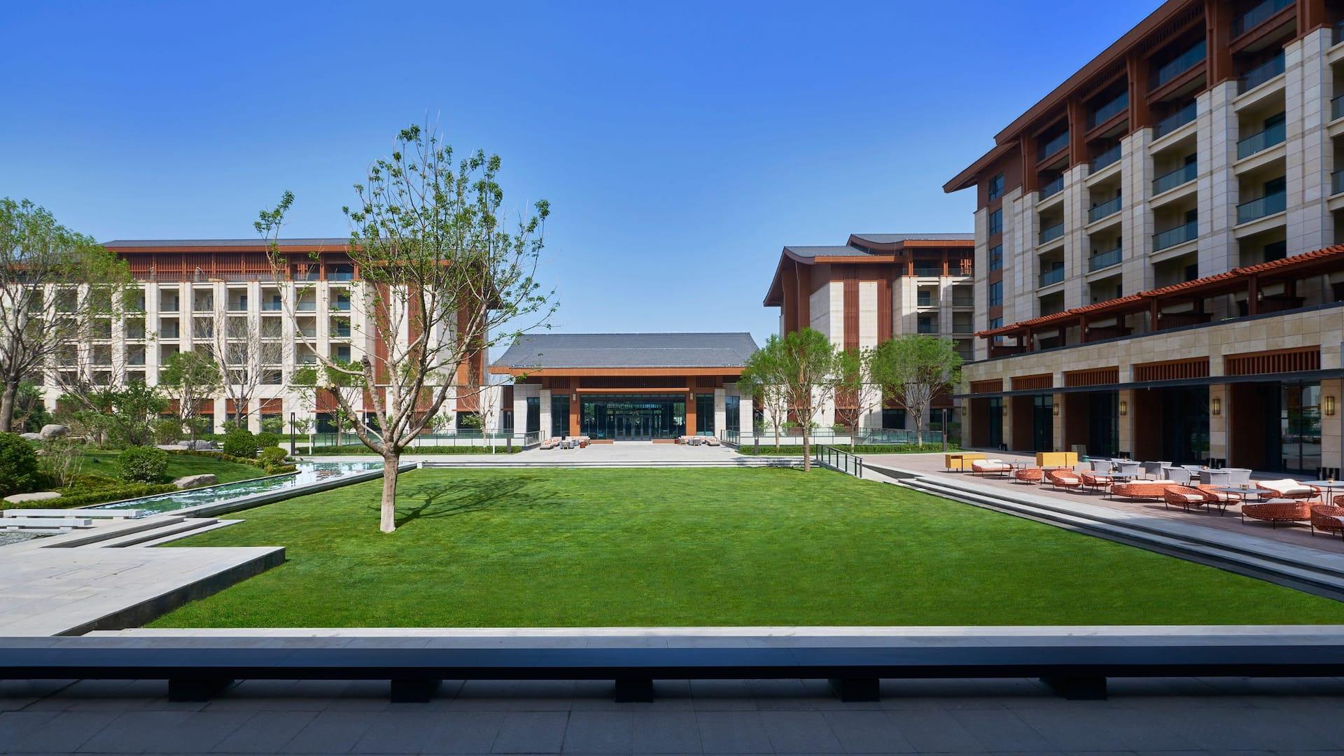 Hyatt Regency Beijing Shiyuan Exterior
