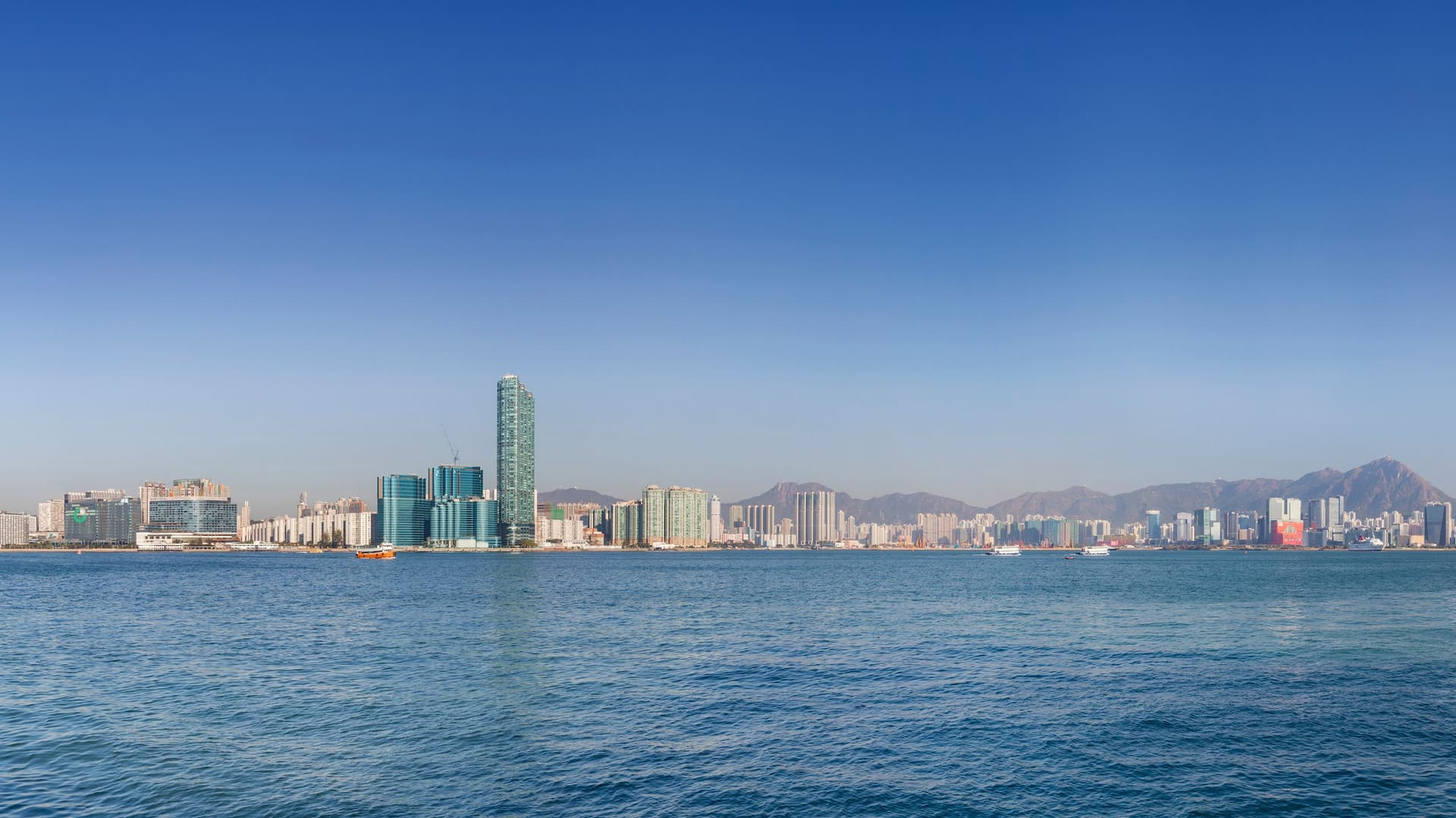 Hyatt Centric Victoria Harbour Panoramic Day View