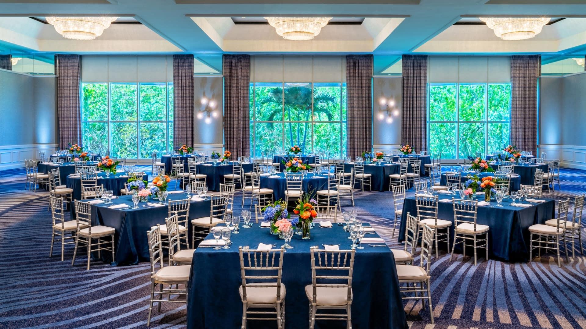 Audubon Ballroom Social Setup