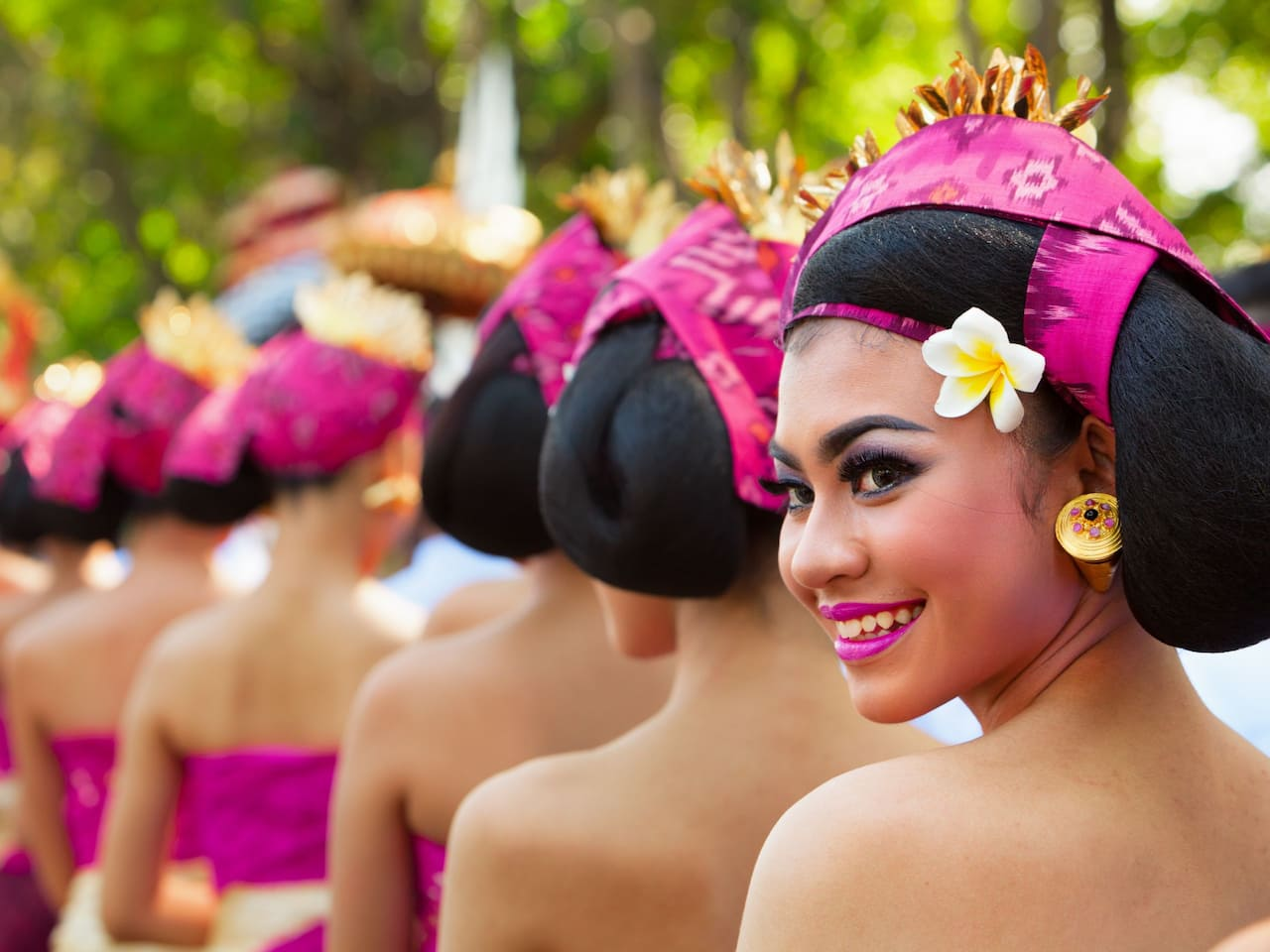 Balinese Ceremony in Sanur